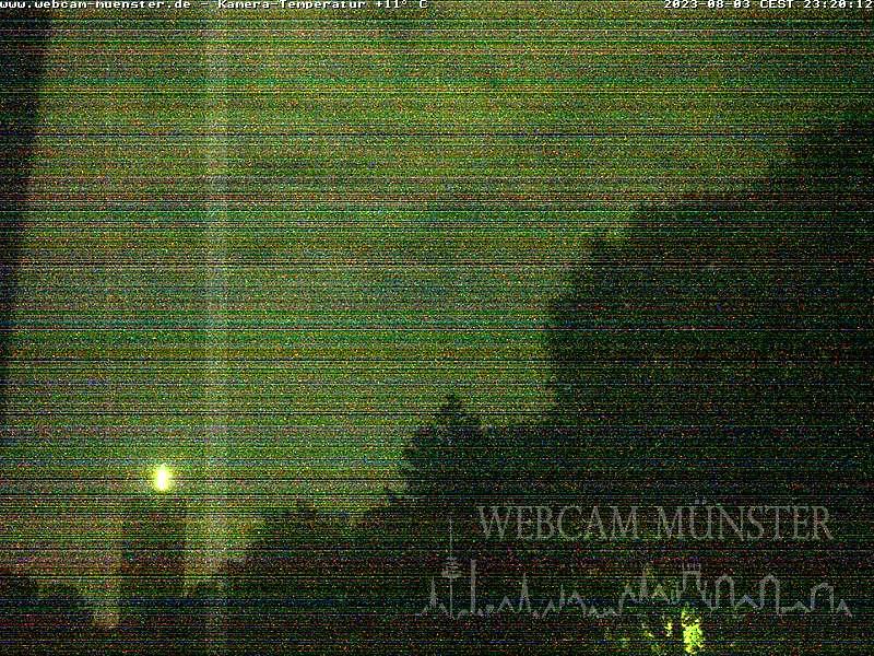 Webcam Münster - aktuelles Bild